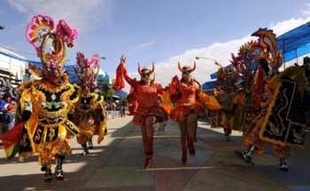 Rio Karnavalından renkli kareler