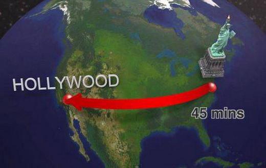 Dünyayı 6 saatte dolaşacaksınız
