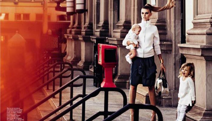 Şehir hayatında anneler