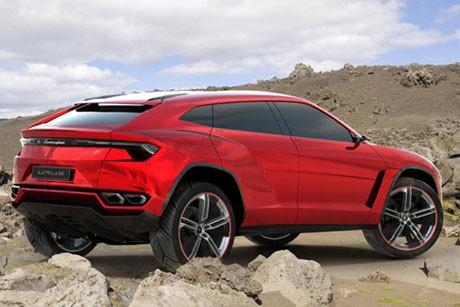 Lamborghini, araziye çıkıyor