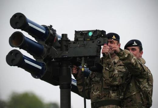 İngiliz ordusundan şaşırtan tatbikat
