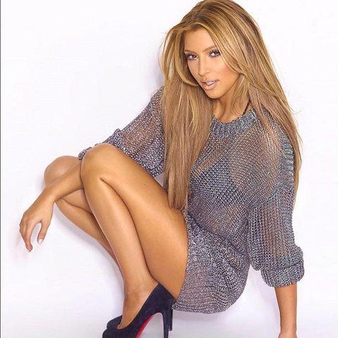 Kim Kardashian sarışın oldu !