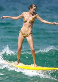 Starların sörf tutkusu
