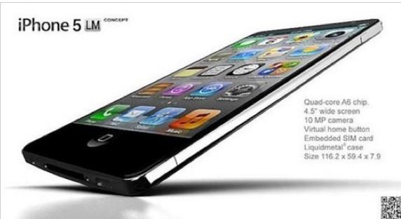 İphone 5 böyle mi olacak?