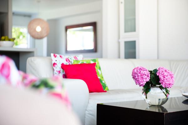 Evlerde yaz dekorasyonu