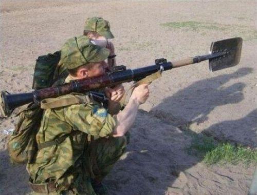 Askerlerin komik anları