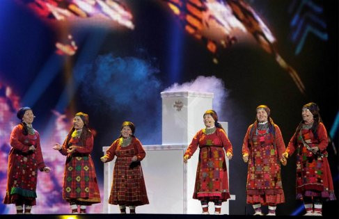 Eurovision yarı finalinden kareler