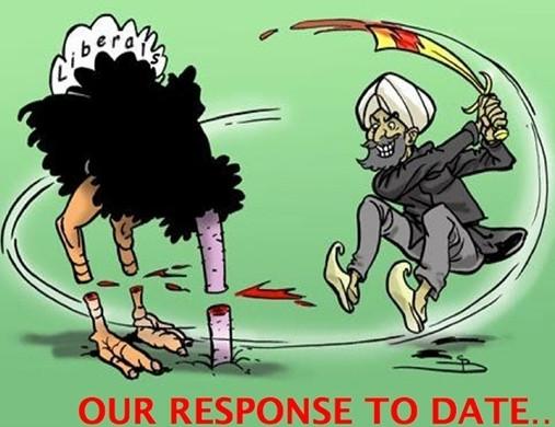 İslama karşı topyekün savaş dersi!