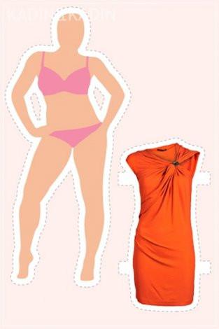 14 vücut tipi için 14 elbise modeli
