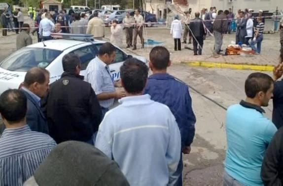 Bombalı araçla saldırıdan fotoğraflar