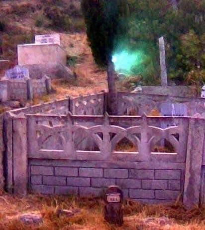 Mezarlıktaki gizemli ışık !