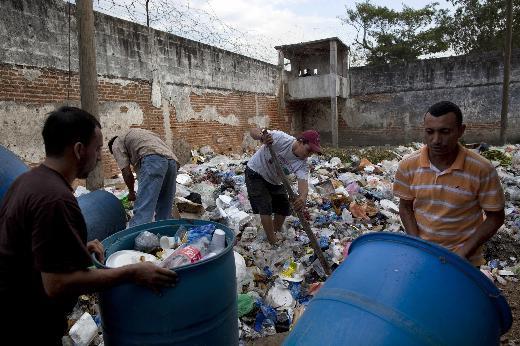 Dünyanın en tehlikeli hapishanesi Hondurasta
