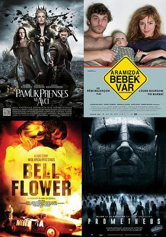 4 yeni film vizyonda..