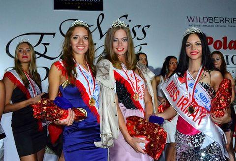 Miss Eurasia Güzellik Yarışmasına katılanlar