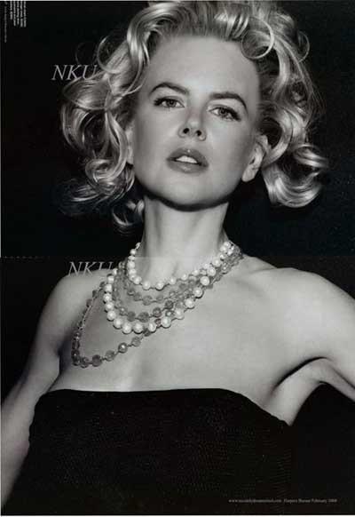 Nicole Kidmandan özel pozlar