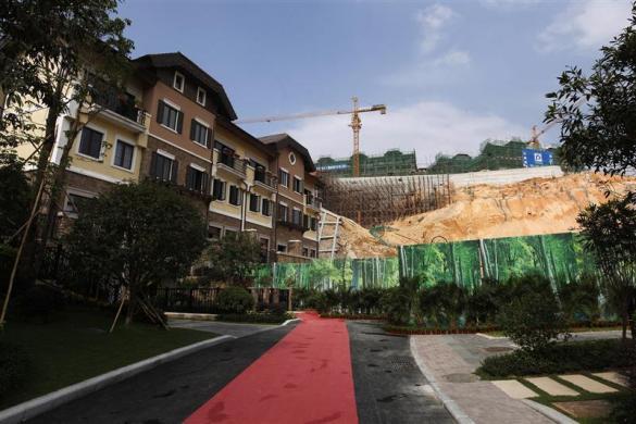 Çin kopya köyü tamamladı