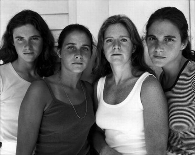 4 kız kardeş 36 yılda böyle yaşlandı