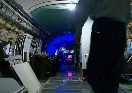 Boeing 727den ev yaptı!