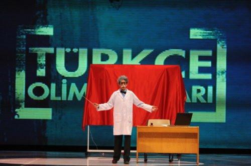 Türkçe Olimpiyatları finaline ünlü akını