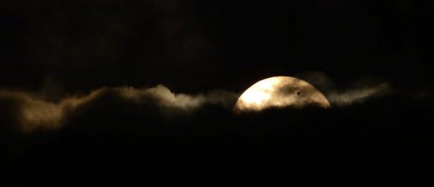 Gökyüzünde Venüs ve Güneşin dansı