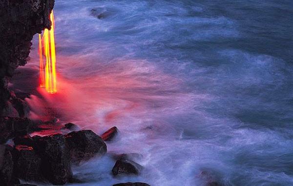 Hawaii de ölümle burun buruna