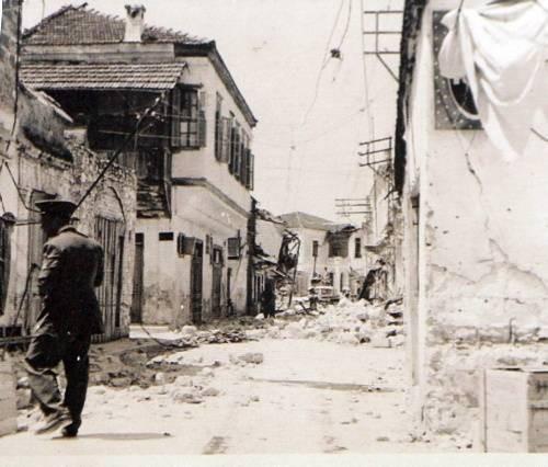 1957 Fethiye depreminden kareler...