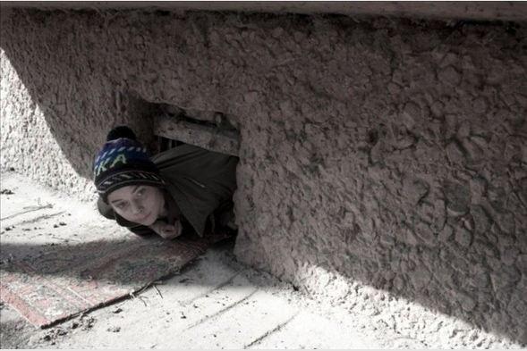 Yeraltında yaşayan çocuklar