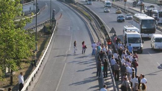 İstanbullular bugün işe böyle gitti
