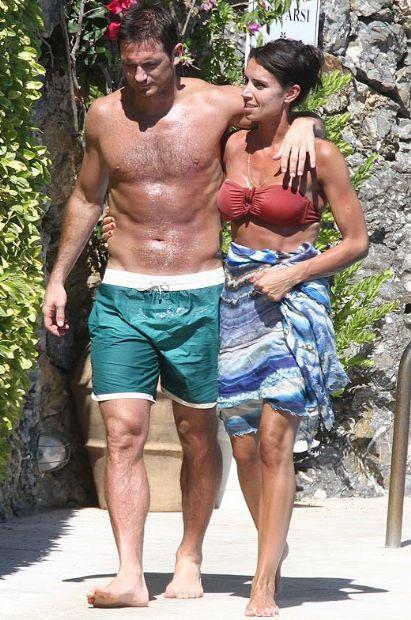 Lampard ve eşi tatilde !
