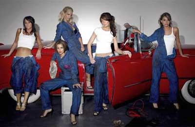 Girls Aloud kızları Fransız olursa