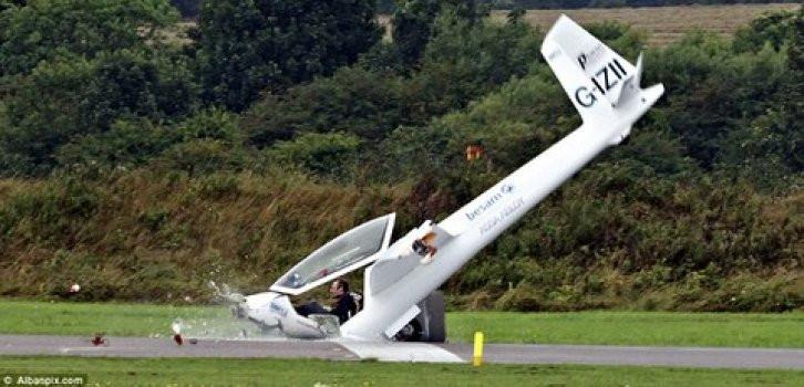 Pilotun inanılmaz kurtuluşu