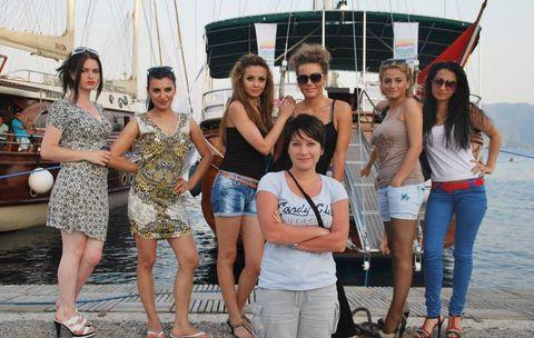 Azeri güzeller Marmariste yarışacak!