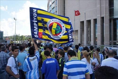 Fenerbahçe taraftarı Çağlayanda