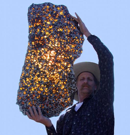 İşte 2 milyon dolarlık göktaşı