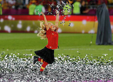 Euro 2012nin en mutlu çocukları