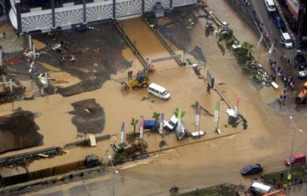 Sel felaketinden sonra...