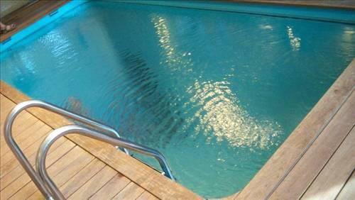 Bu havuza giren ıslanmıyor!