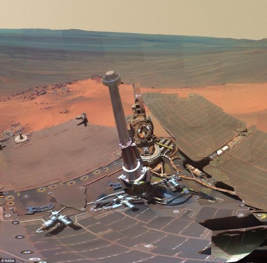İşte Marsın yeni fotoğrafları