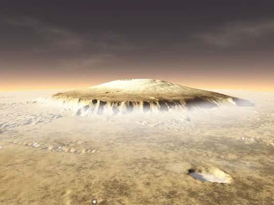 Evrenin en yüksek dağı