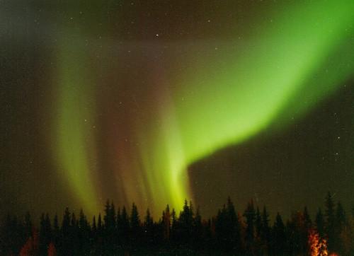 Atmosferde eşsiz güzellikte auroralar görüldü