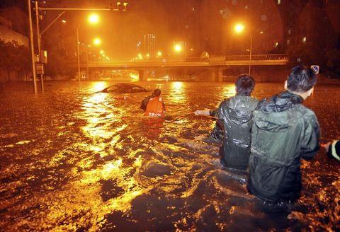 Çinde felaket