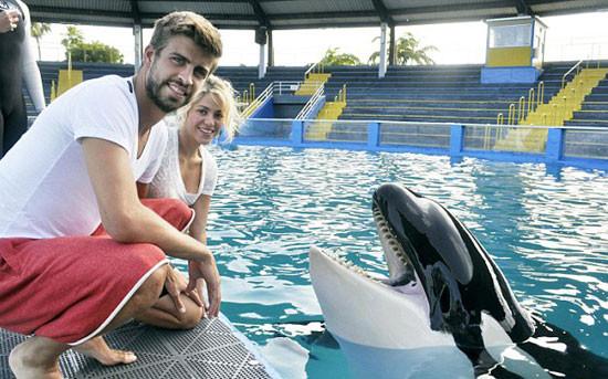 Katil balinadan öpücük!