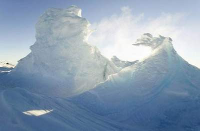 Buz krallığının ülkesi Antartika