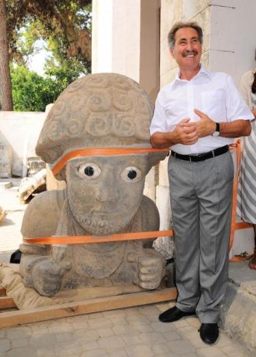 Hatayda 3 bin yıllık kral heykeli