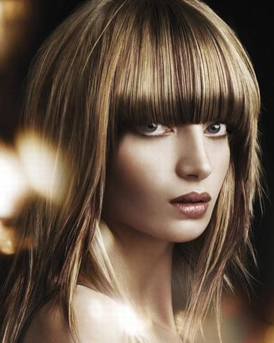 2012 modasında düz saç modelleri!