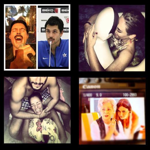Instagramlı ünlüler burada