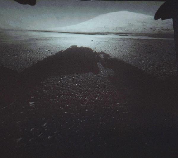 Marstan ilk görüntüler !