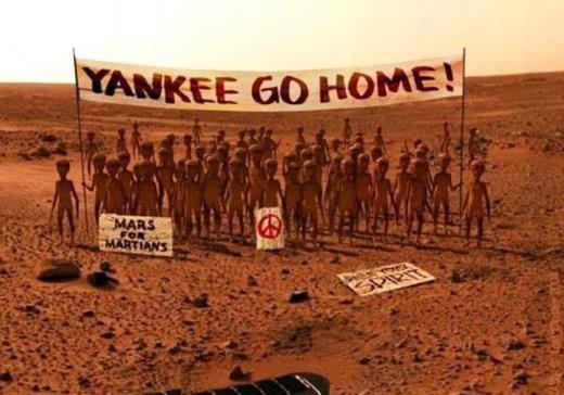 İnternette Mars geyikleri