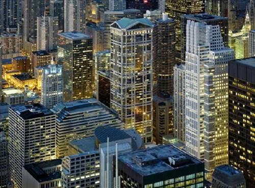 Şikago gökdelenlerinde yaşam