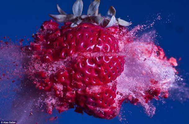 Mermi, meyvelere karşı